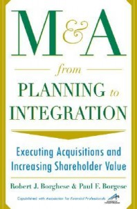 McGraw Hill-Published Author Paul Borgese Interviewed on Mergers & Acquisitions